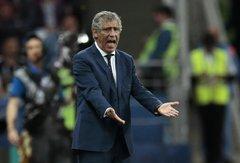 """Portugalijos treneris F.Santosas: """"Baudinių neįmušę futbolininkai 2016 metais buvo herojai. Toks jau tas futbolas"""""""