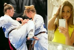 Jaunoji karatė žvaigždutė Monika Ryžkovaitė: labai svarbu turėti parako savo viduje!